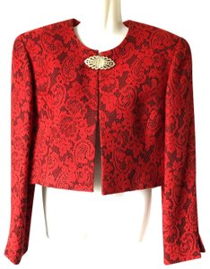Dior Limited Buckle Red Jacket