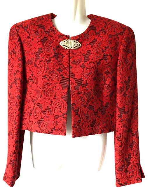 Preload https://img-static.tradesy.com/item/24918757/dior-red-short-above-waist-jacket-size-8-m-0-1-650-650.jpg