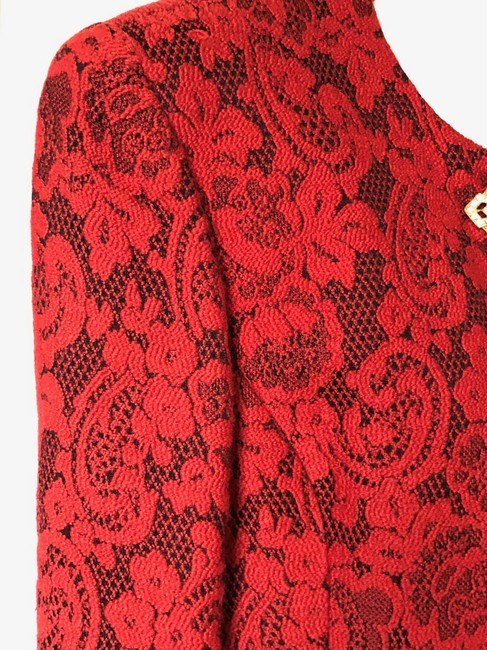 Dior Limited Buckle Red Jacket Image 1