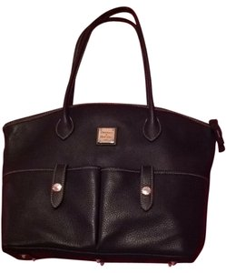 Dooney & Bourke Tote in Dark Chocolate Brown