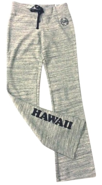 Item - Marled Gray Bling Uh Hawaii Flare Activewear Bottoms Size 6 (S)