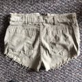 Free People Cut Off Shorts Beige Image 4