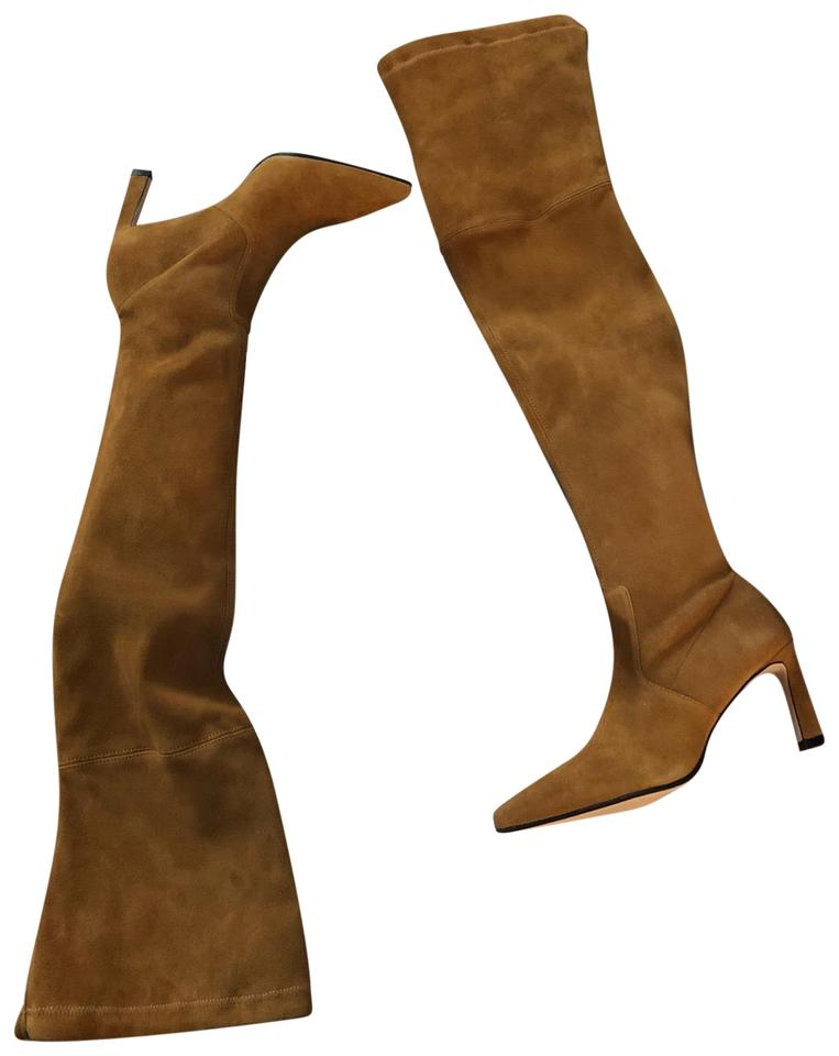c0c623a48 Stuart Weitzman Cognac/Brown Natalia Over The Knee Boots/Booties ...