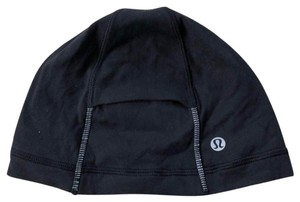 Lululemon Lululemon Black Running Scull Cap Hat For Ponytail