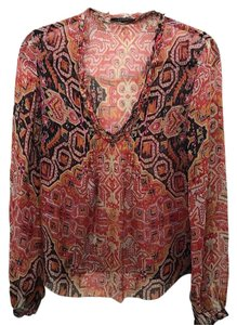 Elie Tahari Top Multi
