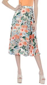 Alice + Olivia Skirt Flower Print
