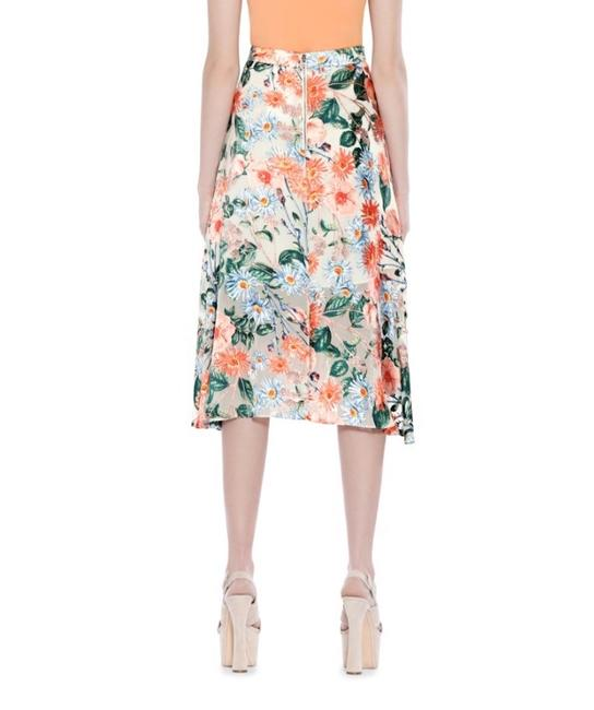 Alice + Olivia Skirt Flower Print Image 4