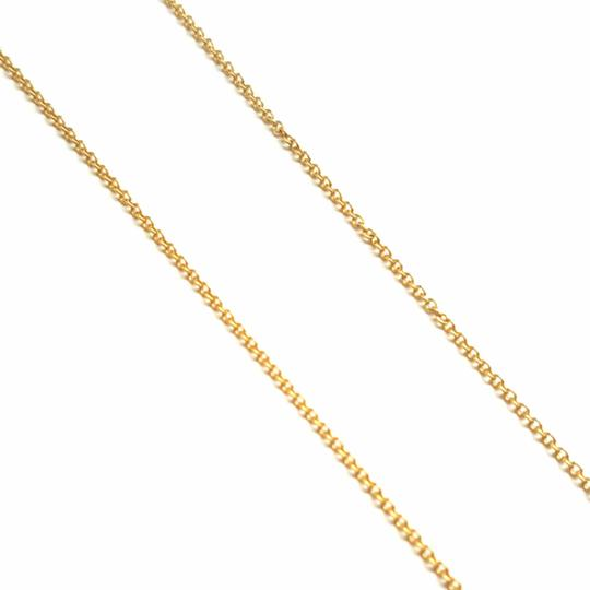 Tiffany & Co. VERY RARE, VERY BEAUTIFUL!! Tiffany & Co. 18k Yellow Gold Necklace with Bow Pendant Image 1
