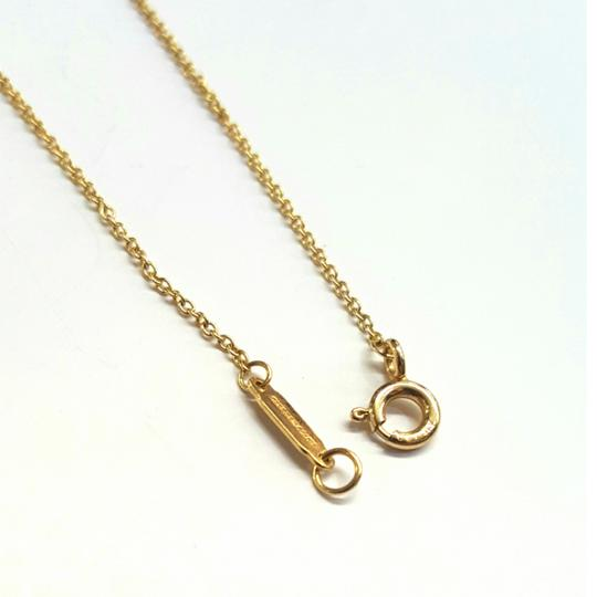 Tiffany & Co. VERY RARE, VERY BEAUTIFUL!! Tiffany & Co. 18k Yellow Gold Necklace with Bow Pendant Image 3