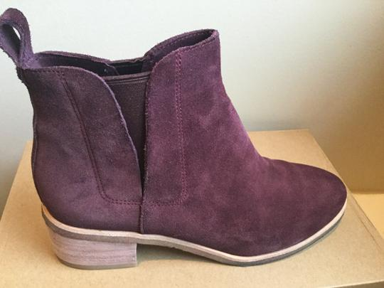 Clarks Suede WIne Boots Image 5