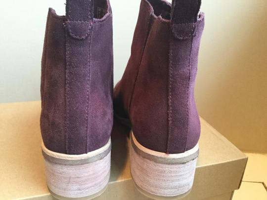 Clarks Suede WIne Boots Image 6
