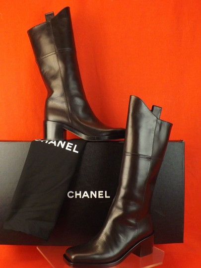 Chanel Western Cowboy Choco BROWN Boots Image 1