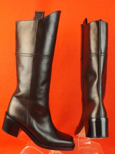 Chanel Western Cowboy Choco BROWN Boots Image 3