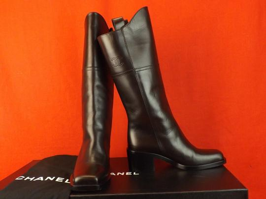Chanel Western Cowboy Choco BROWN Boots Image 4