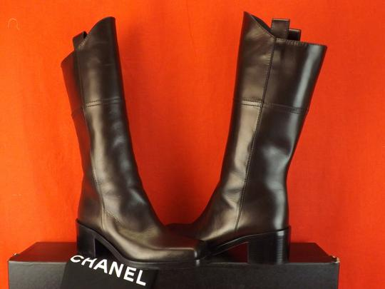 Chanel Western Cowboy Choco BROWN Boots Image 5