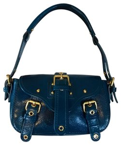 Marc Jacobs Leather Small Satchel in Blue