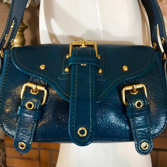 Marc Jacobs Leather Small Satchel in Blue Image 1