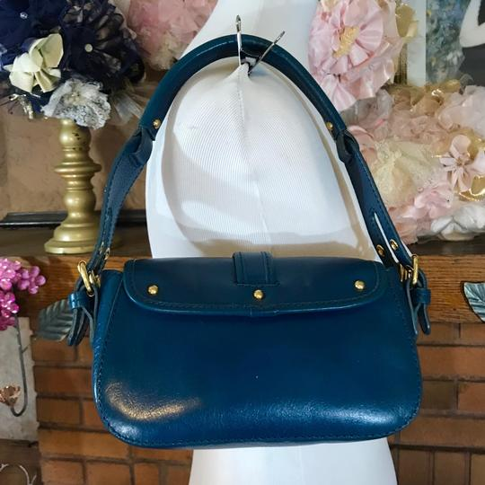 Marc Jacobs Leather Small Satchel in Blue Image 2