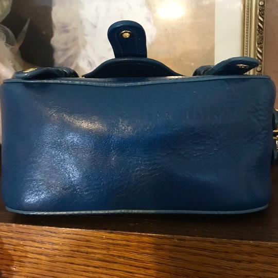 Marc Jacobs Leather Small Satchel in Blue Image 4