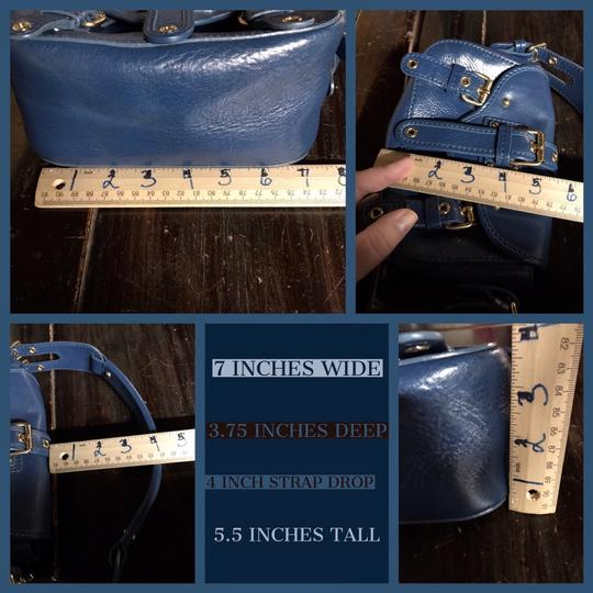 Marc Jacobs Leather Small Satchel in Blue Image 8