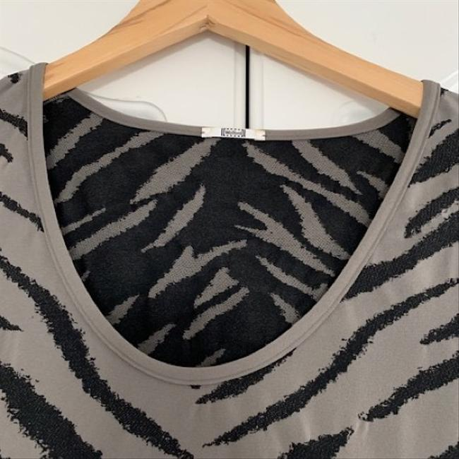 Wolford T Shirt grey and black Image 1