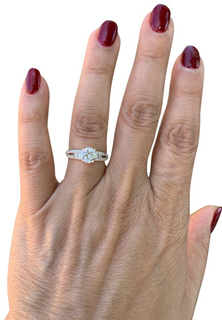 Item - Yellow Gold 14k Solid Engagement Promise Size 7 Ring