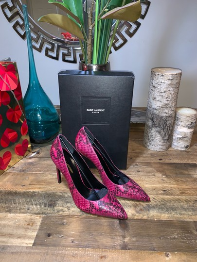 Saint Laurent Fuchsia Pumps Image 1