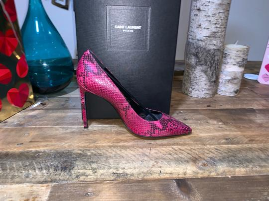 Saint Laurent Fuchsia Pumps Image 2