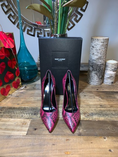 Saint Laurent Fuchsia Pumps Image 3