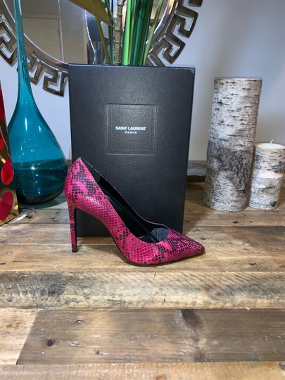 Saint Laurent Fuchsia Pumps Image 5