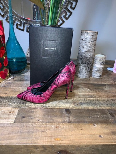 Saint Laurent Fuchsia Pumps Image 7