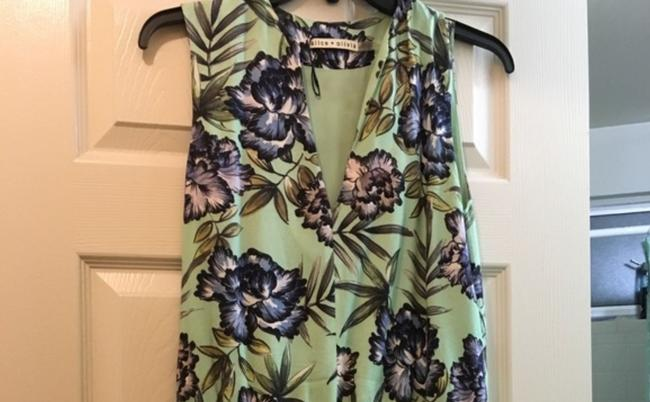 Alice + Olivia short dress Green & Purple on Tradesy Image 1
