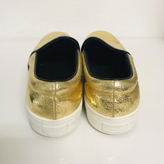 Céline Metallic Slip-on Musthave Clasic Gold Athletic Image 4
