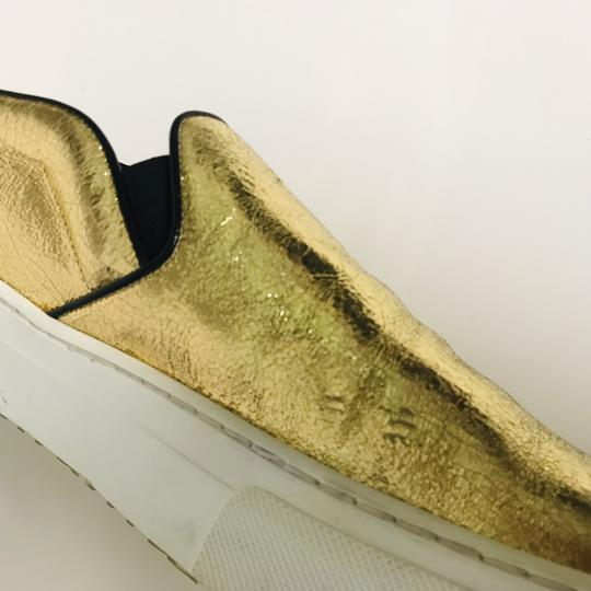 Céline Metallic Slip-on Musthave Clasic Gold Athletic Image 6