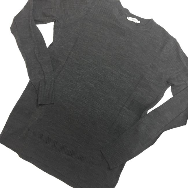 Preload https://img-static.tradesy.com/item/24919911/vince-wool-thinly-knit-crewneck-gray-sweater-0-1-650-650.jpg