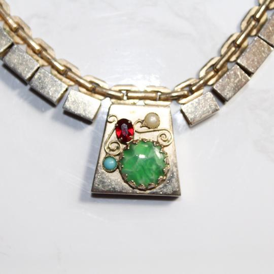 Vintage Kafin New York Statement Necklace Image 3