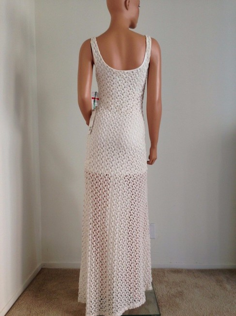 Ivory Maxi Dress by Mimi Chica Image 1