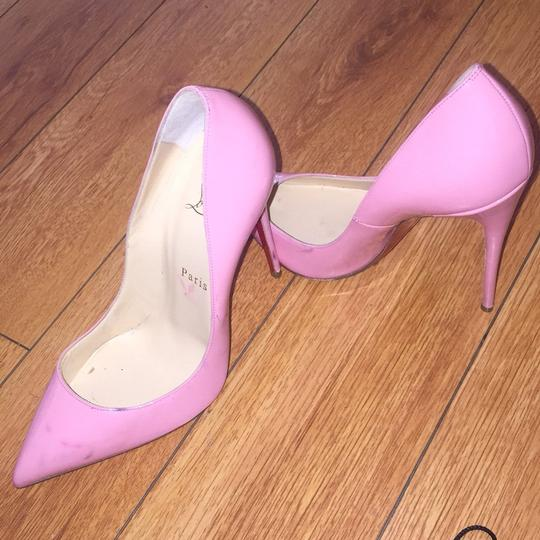 Christian Louboutin So Kate pink Pumps Image 1