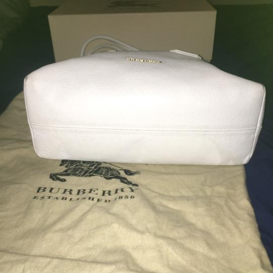 Burberry Satchel in White Image 5