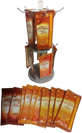 unknown 2-Tier Revolving Countertop Peg Spinner Rack Carousel Image 5