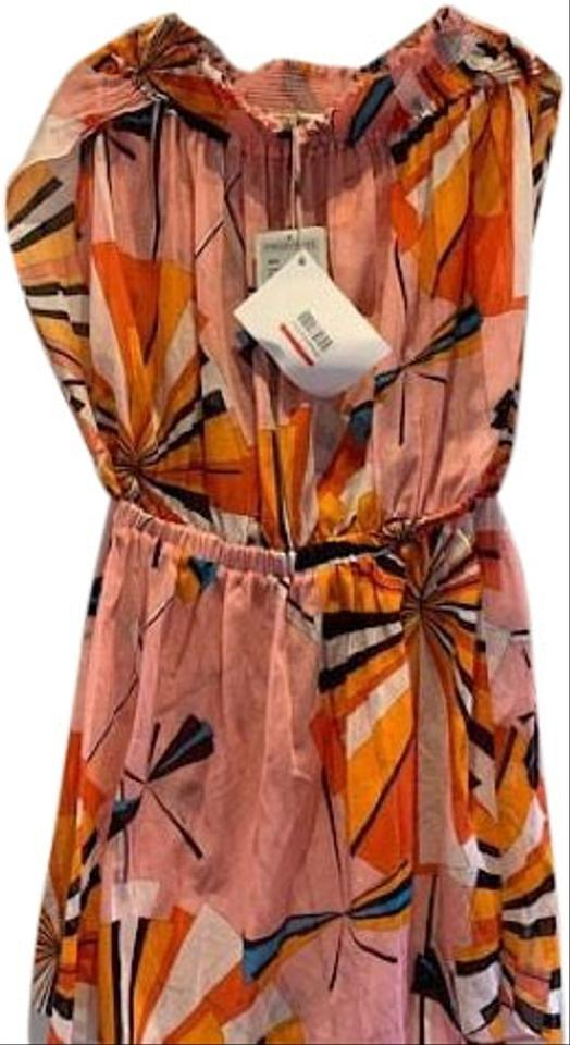 261240b778 Emilio Pucci Pink Off The Shoulder Dress Cover-up/Sarong Size 10 (M ...