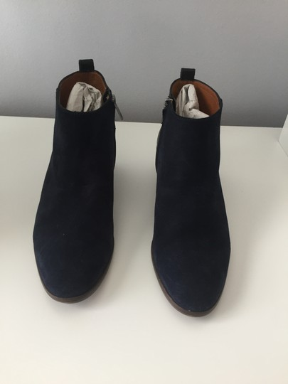 Madewell Suede Ankle Dark Blue Boots Image 2