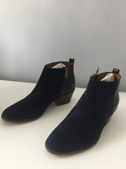 Madewell Suede Ankle Dark Blue Boots Image 3