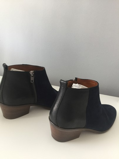 Madewell Suede Ankle Dark Blue Boots Image 5