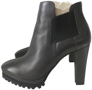 AllSaints Leather Ankle Grey Boots