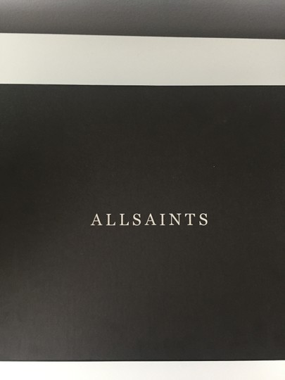 AllSaints Leather Ankle Grey Boots Image 7