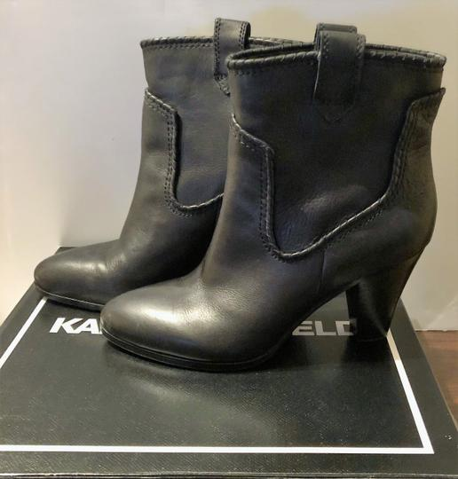 Karl Lagerfeld Provence Black Boots Image 1