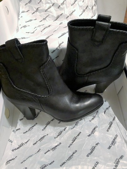 Karl Lagerfeld Provence Black Boots Image 2