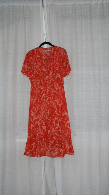 soaked in luxury short dress orange Summer Lanelle Wrap on Tradesy Image 2