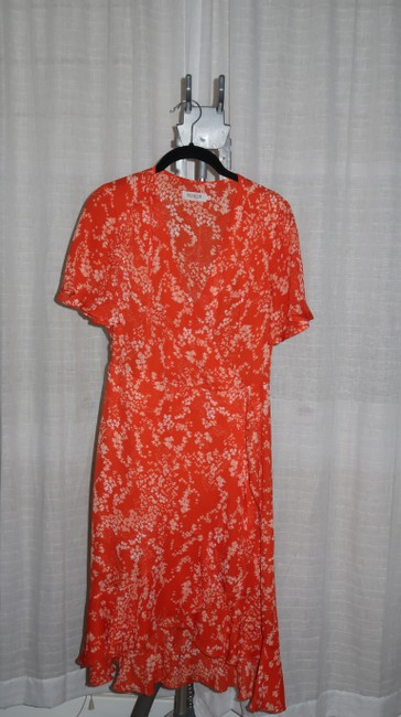 soaked in luxury short dress orange Summer Lanelle Wrap on Tradesy Image 3